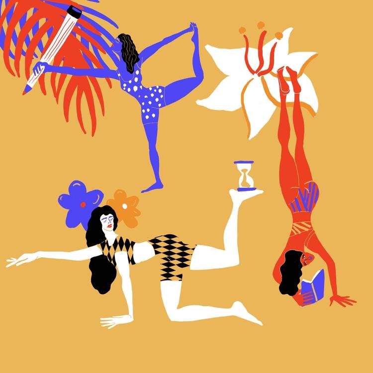 Illustration, work breaks incre - fitza11 | ello