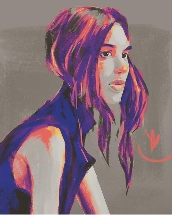 Charlee Fraser - Infra III - portrait - evandileo | ello