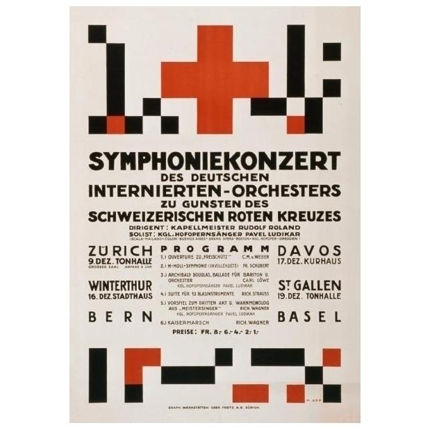 Hans Arp 1886-1966 — Poster Ger - strouzas | ello