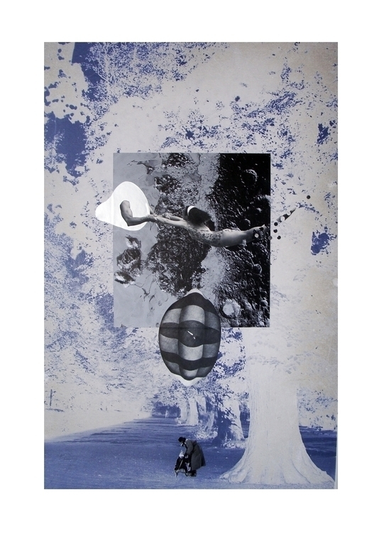 Flying Space Collage | 2015 - pastusiak | ello