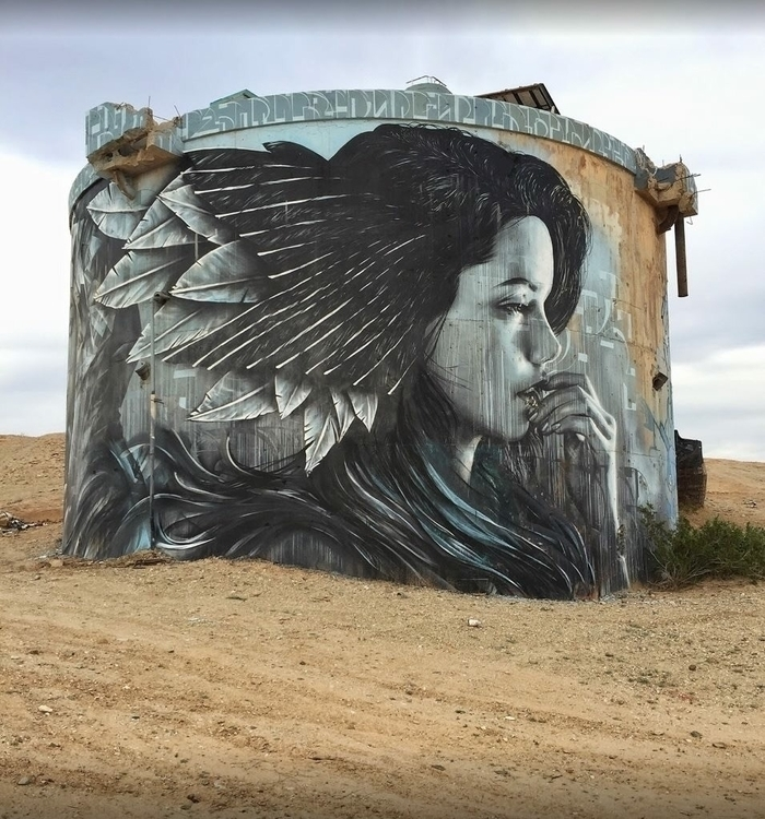 Artist: Christina Angelina Loca - streetartunitedstates | ello
