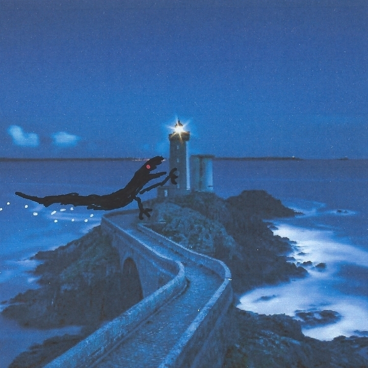 "climbed side lighthouse"" cried  - littlefears 