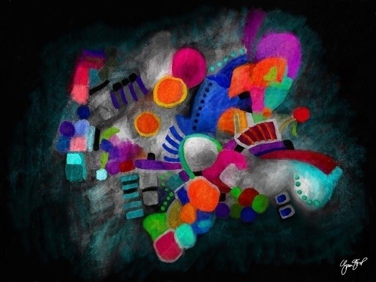 Color Hand - collage, mixedmedia - ginastartup | ello