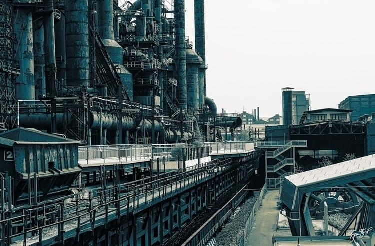 Bethlehem Steel Mill - photography - ginastartup   ello