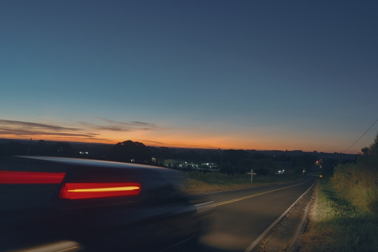 Fuga - photography, ontheroad, night - aasanches | ello