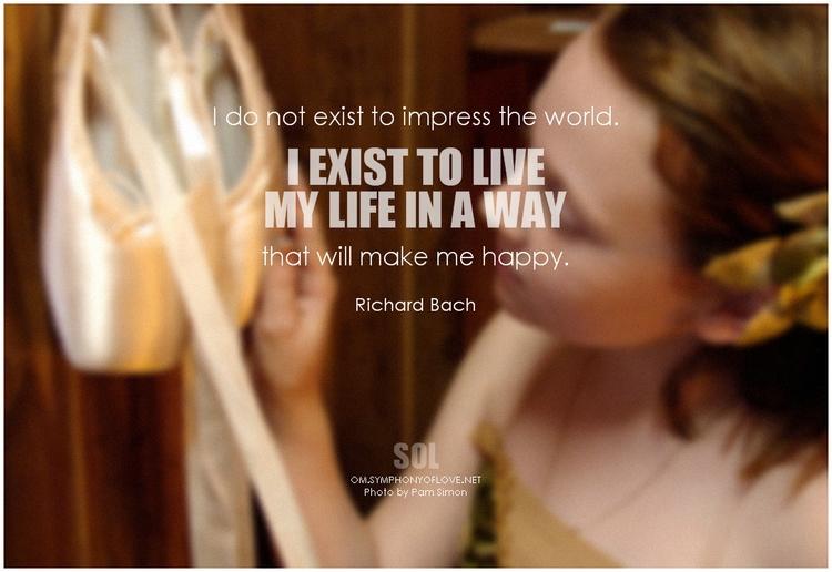 picture quotes Life exist impre - symphonyoflove | ello