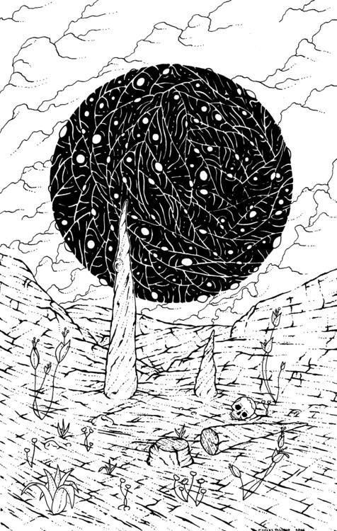 Personal work - 2016 - illustration - 3-3-3   ello