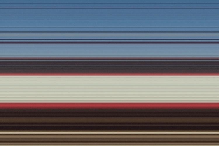 Train / Digital manipulation - glitche - guido_chiabrera   ello