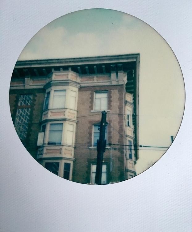 Robson Street, II - Polaroid, Vancouver - jkalamarz | ello
