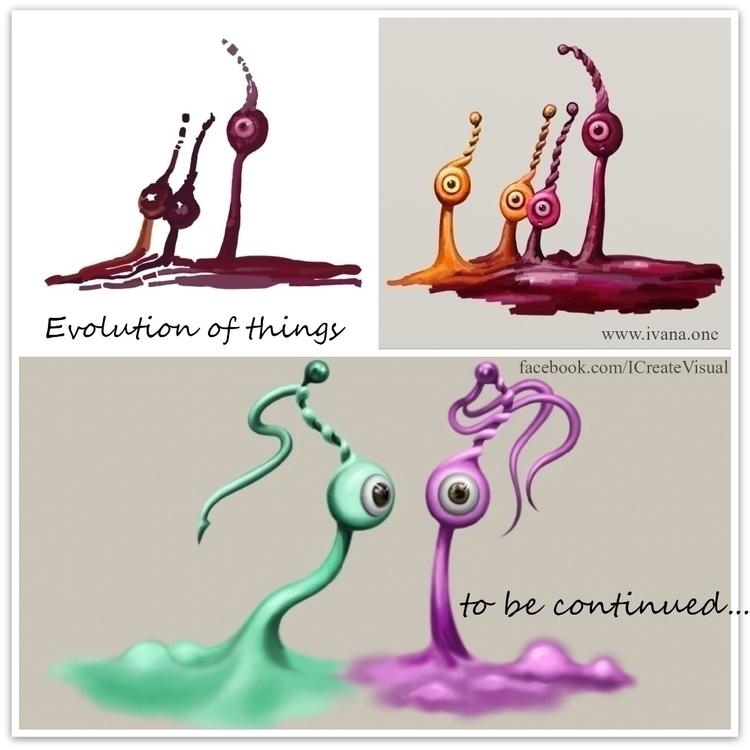Evolution - Art, artinprogress - ivaw | ello