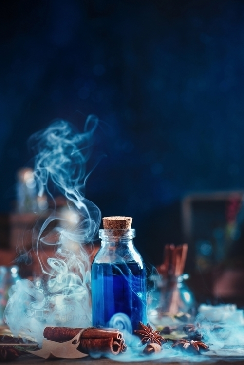 Potions Poisons work backstages - dinabelenko | ello