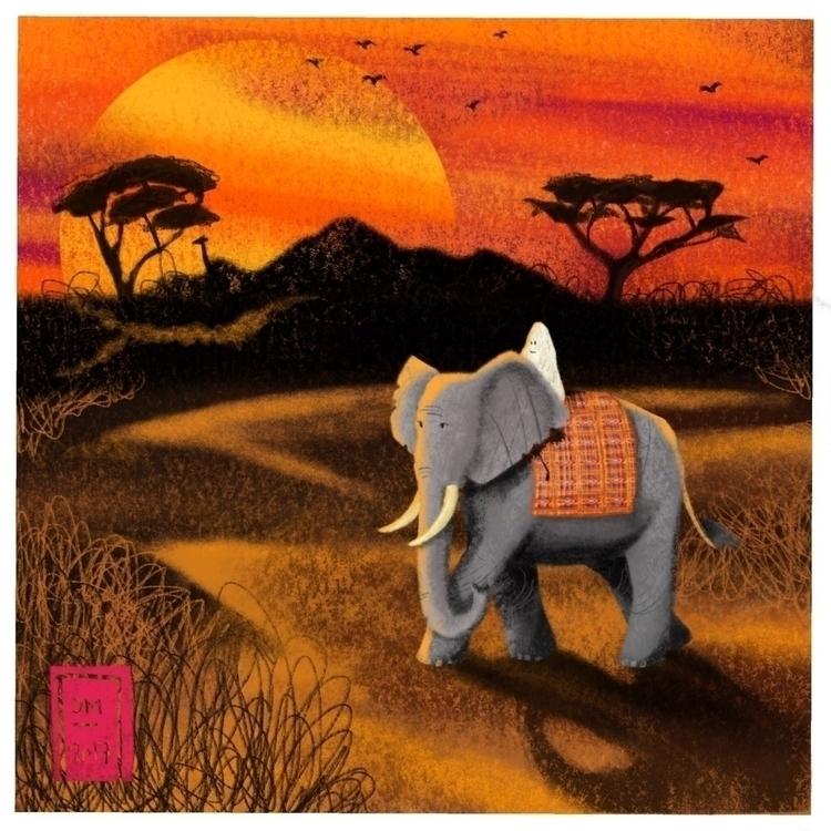 yeti sighting - illustration - doodlesmarc | ello