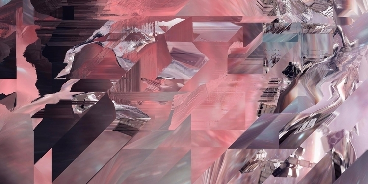 Space - glitch, art, digital, abstract - gaalo | ello