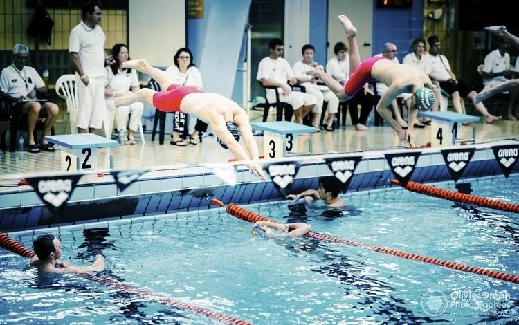 Le départ - plongeon, natation - olivier_drean | ello