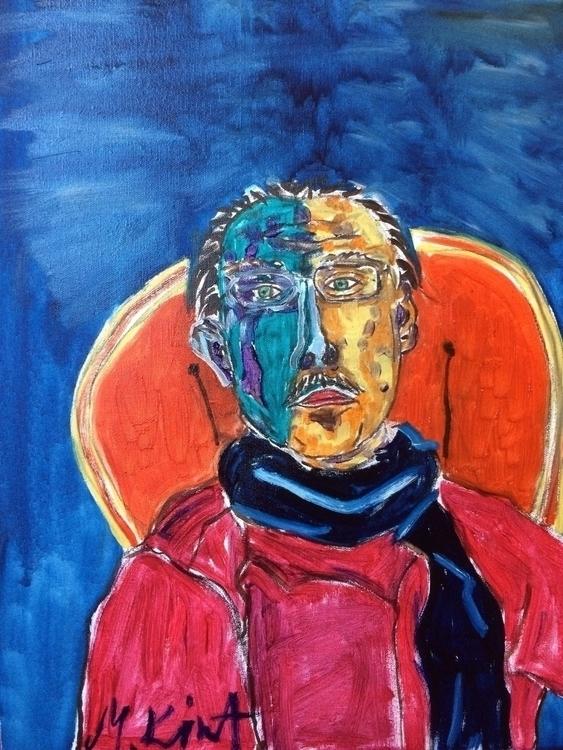 Unkown artist, oil canvas, 40x5 - michaelkimt | ello