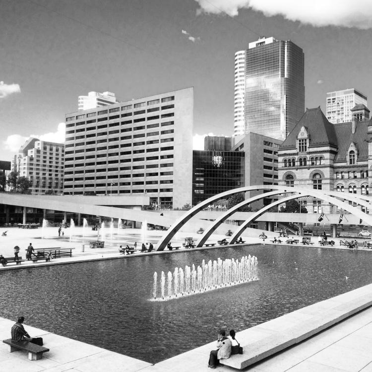 City Hall Square (Toronto 2015  - dainahodgson | ello