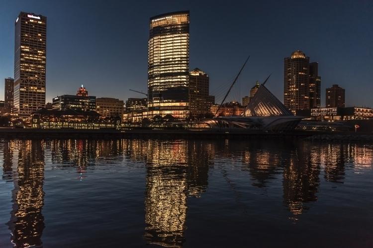 Milwaukee Reflections - sharkypics | ello