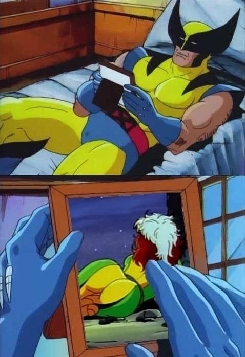 - SundayBunday, Wolverine, Rogue - robogiggles | ello