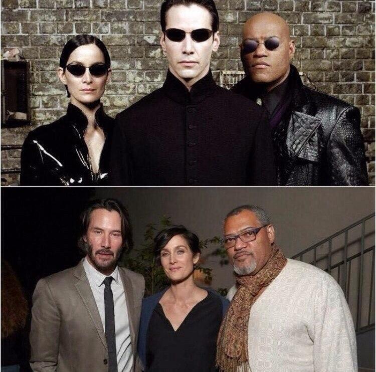 Matrix  - KeanuReeves, CarrieAnneMoss - esquirephotography | ello