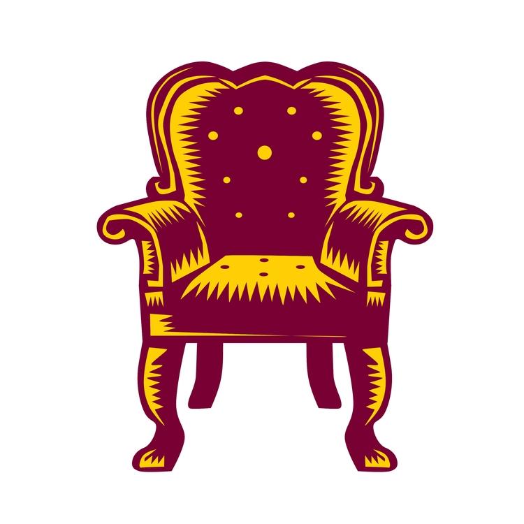 Grand - Baroque, Arm, Chair, Woodcut - patrimonio | ello