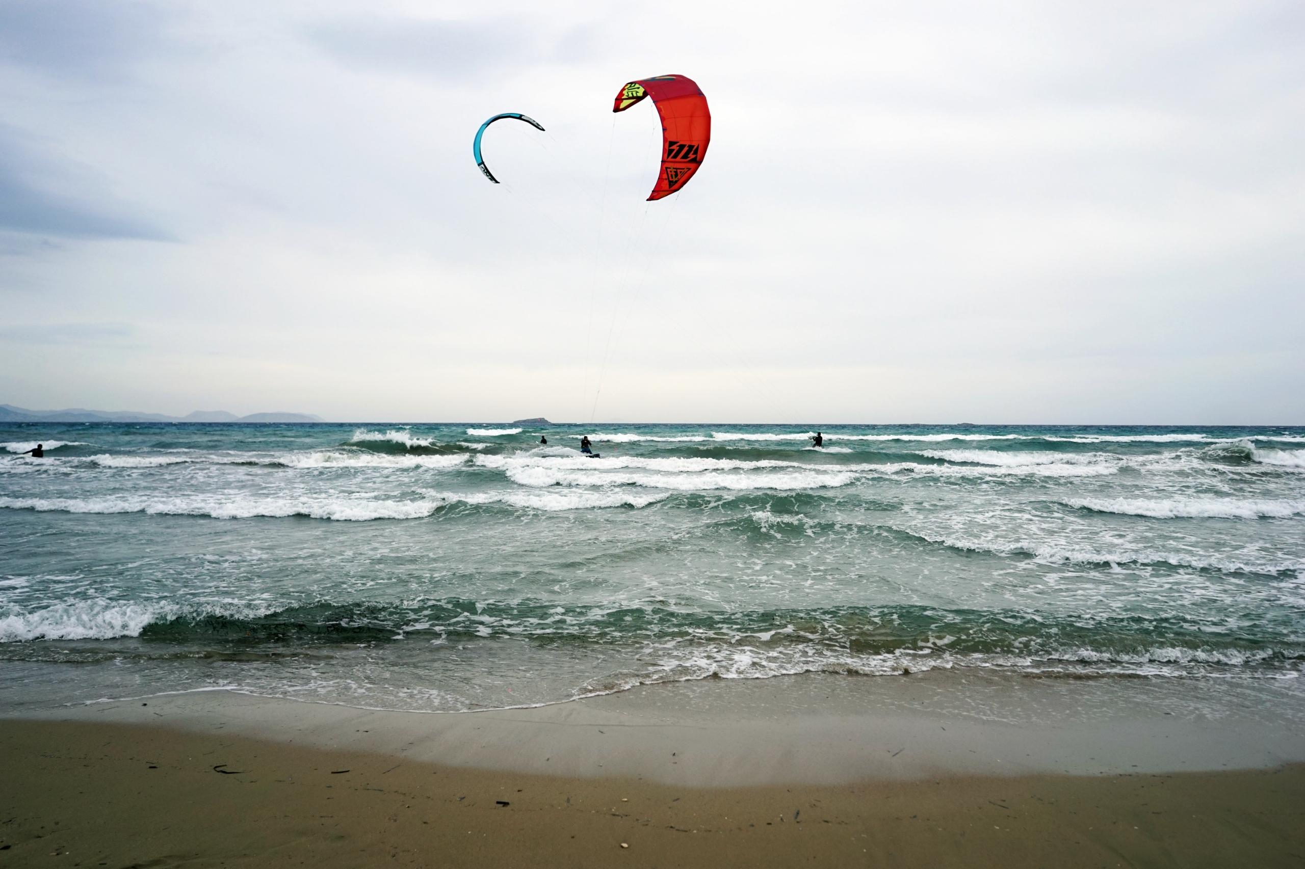 love air - kitesurfing, sea, Athens - gamblersfallacy   ello