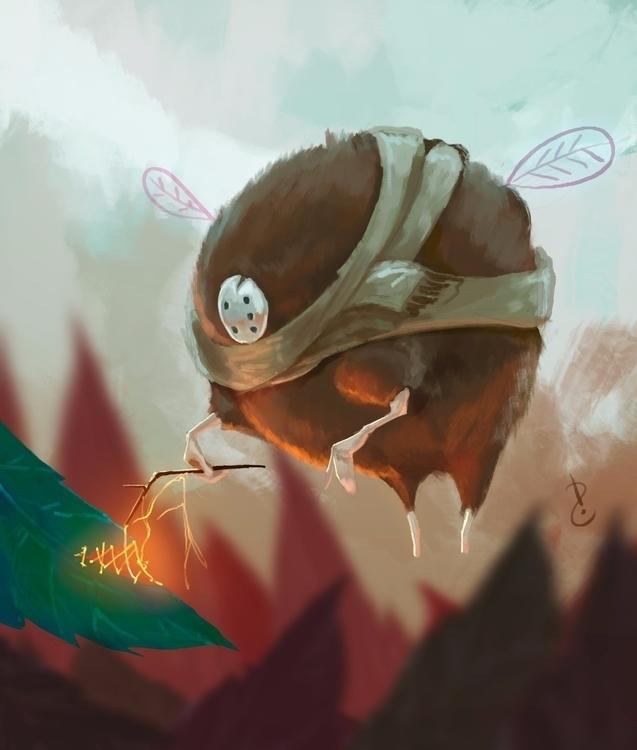 fairy - speedpaint, characterdesign - david-rivera | ello