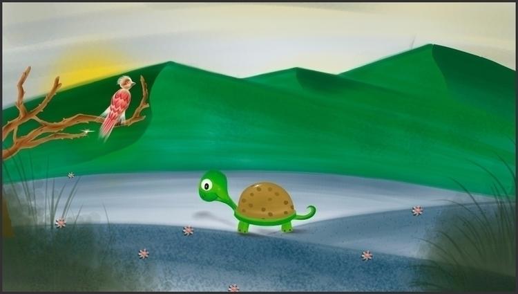 Humildad cuento - Ilustración I - yangluchan | ello