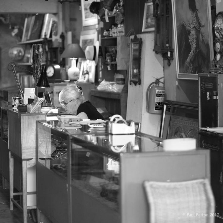 Antique store, Kalk Bay Street  - paulperton | ello