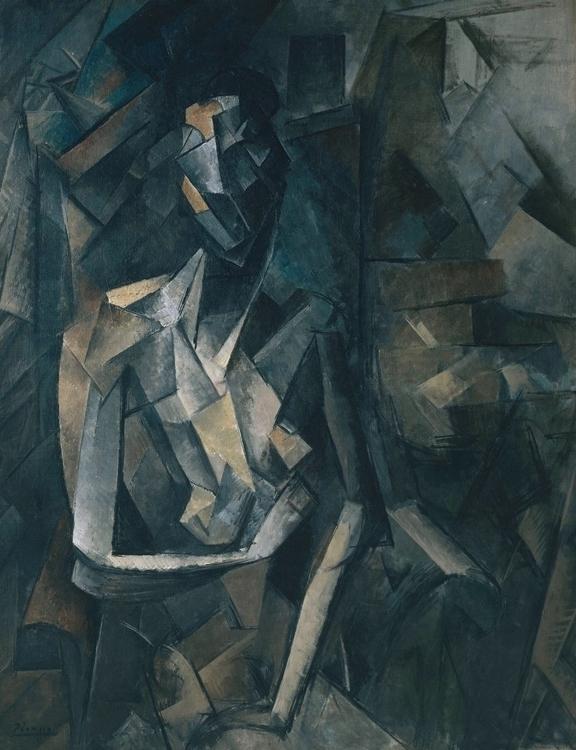 Pablo Picasso, 1909-10, Figure  - daultondickey | ello
