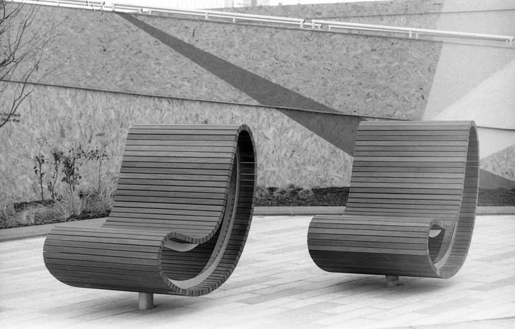 Seats, Battersea Power Station - toshmarshall   ello