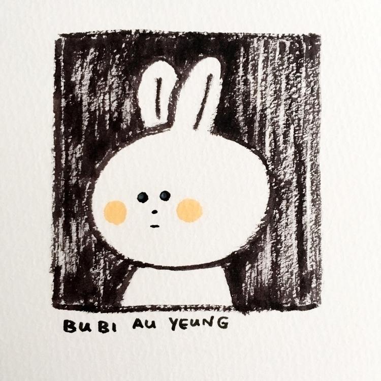 Morning quick sketch - bunny, rabbit - bubi | ello