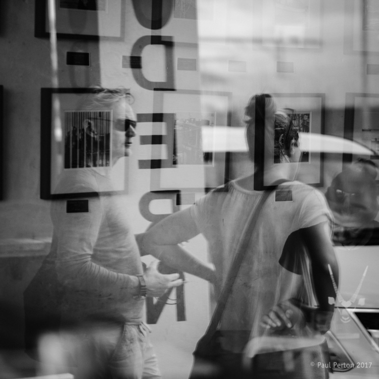 Reflection, Kalk Bay Street sho - paulperton | ello