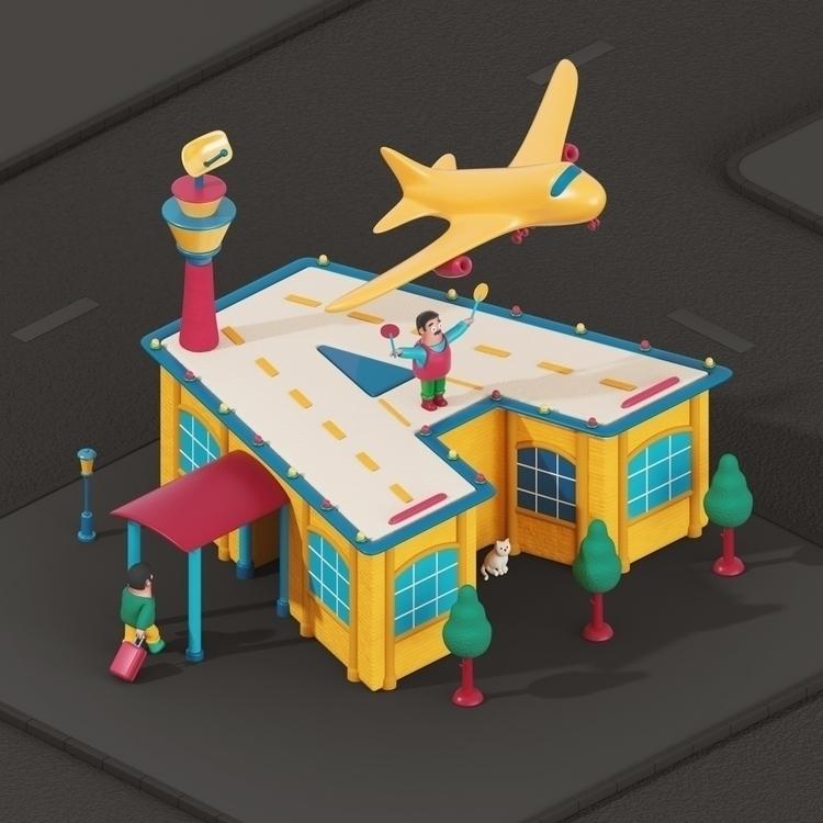 Airport! Andy (aka WEAREKIDZ) p - yippiehey | ello