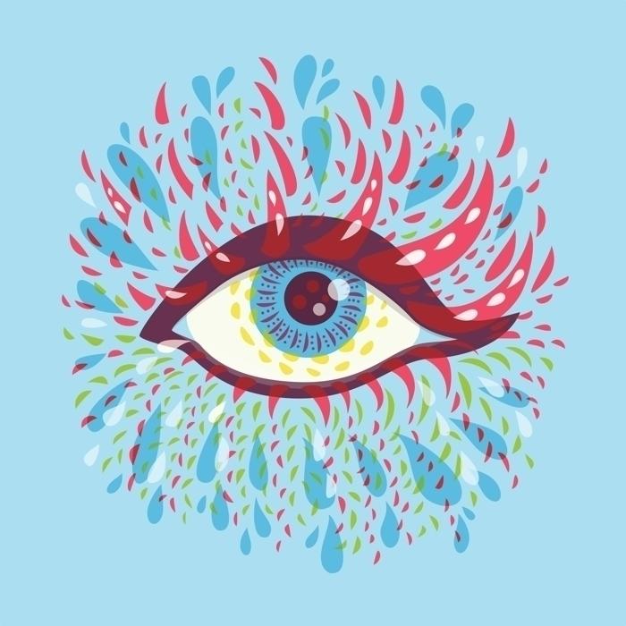 eyes drew 2016. project Behance - borianag | ello