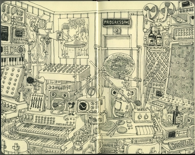 Mattias Adolfsson - synth, synthesizer - pixelrust | ello