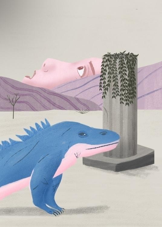 Nature Parts II - illustration - erickmramos | ello