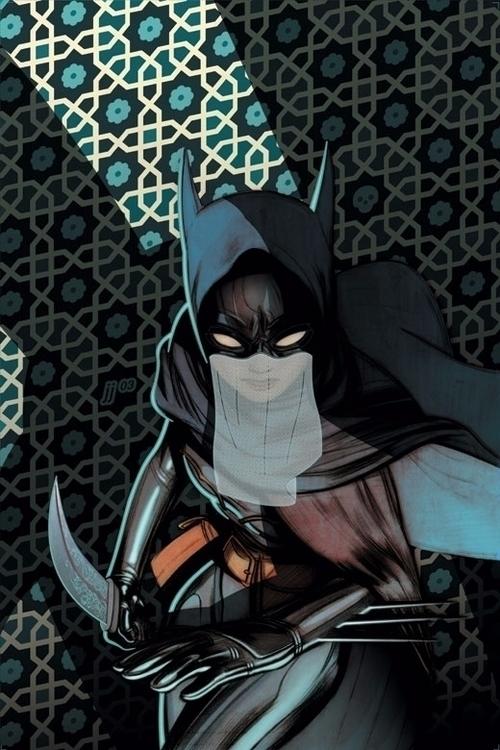 Cover art James Jean 'Batgirl'  - geekynerfherder | ello
