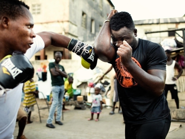 coast Ghana neighbourhood Bukom - fabrik | ello