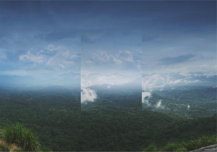 Mirror nature.  - sky, surreal, manipulation - riazhassan | ello