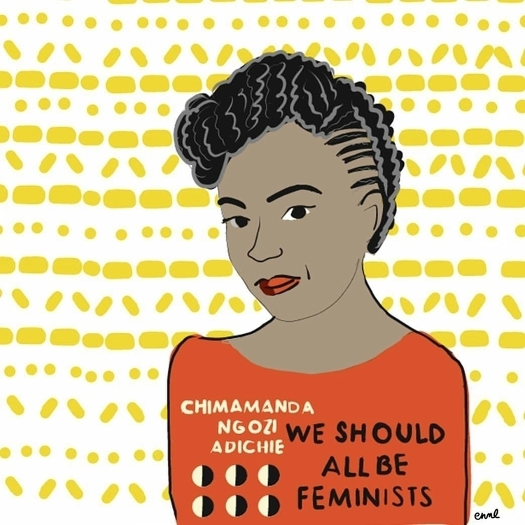 9 - emilyreadsthendraws2017:, weshouldallbefeminists. - emilynettie | ello