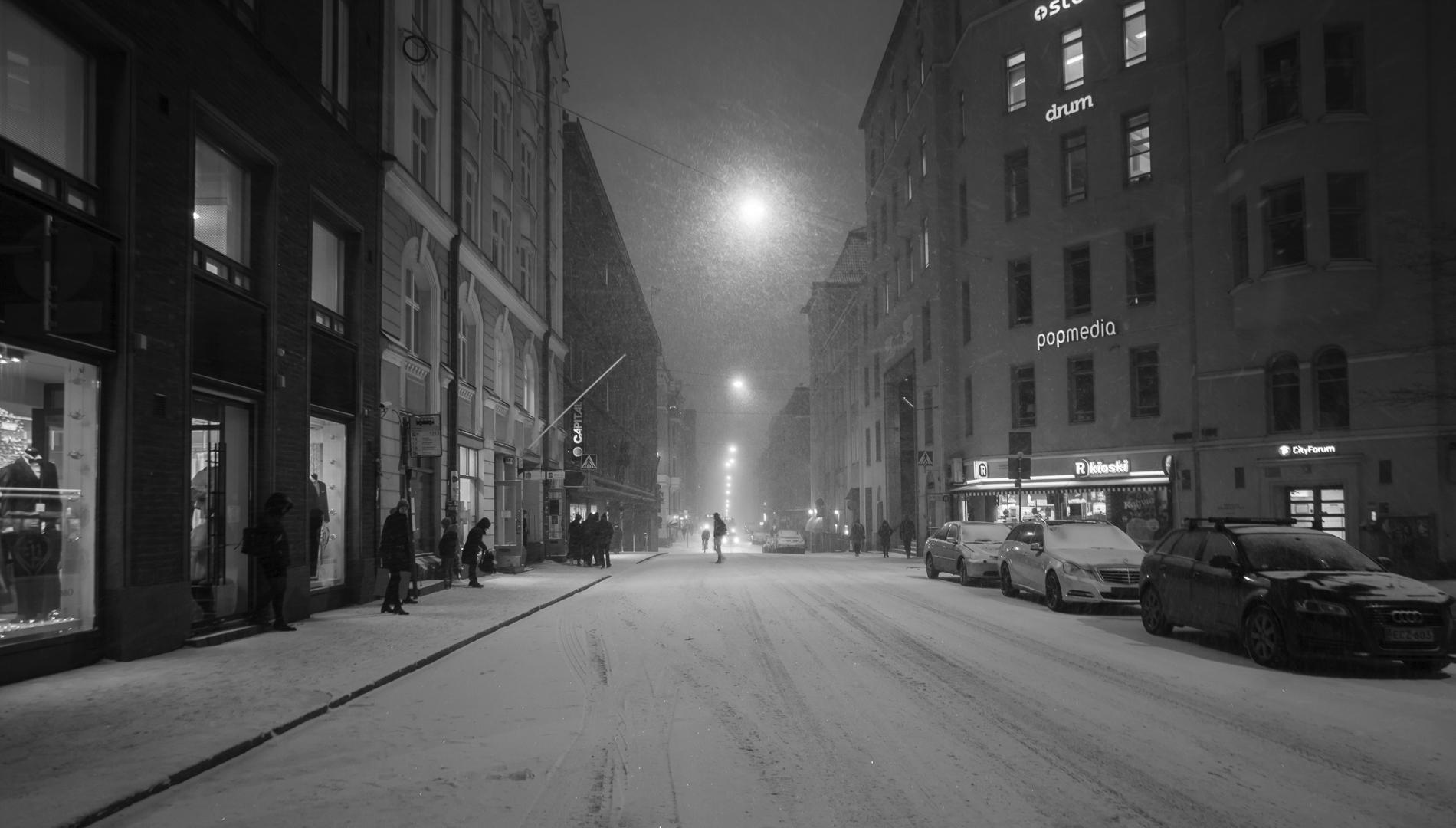 Winter game city - photography, cityscape - anttitassberg | ello