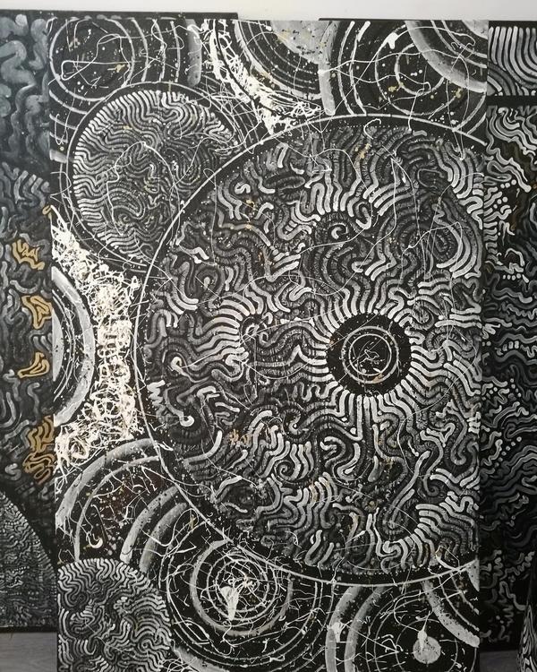 experimental artwork. Zoom deta - yellabor | ello