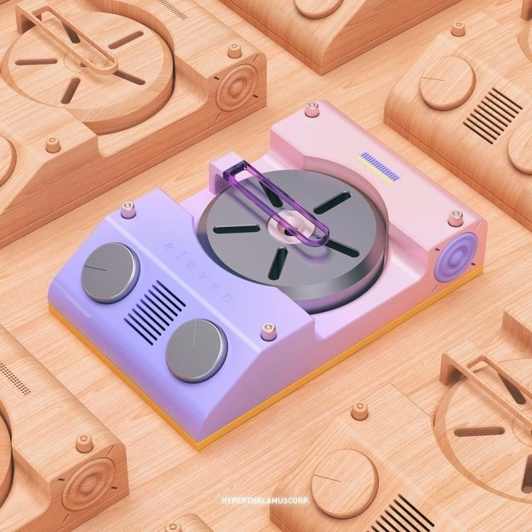 24.02.17 Volume knobs - 3d, thea - conquestofninjacats | ello