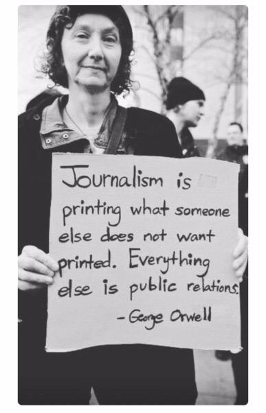journalism, georgeorwell, orwell - storribio   ello