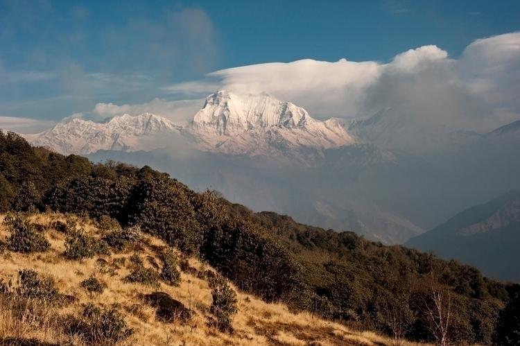Dhaulagiri Range - Himalayas - photography - neongrounds | ello