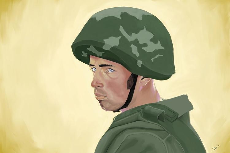 Soldier Digital, 2017. Photo re - notbadart   ello