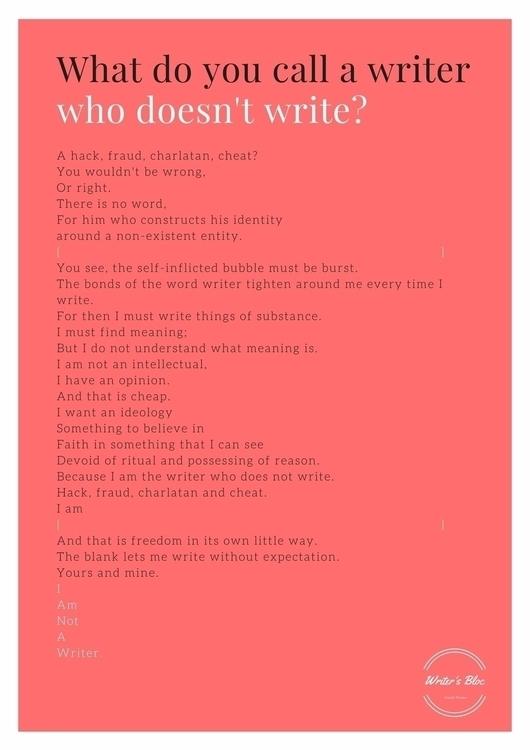 write, write - writing, manifesto - dinneratjoes | ello