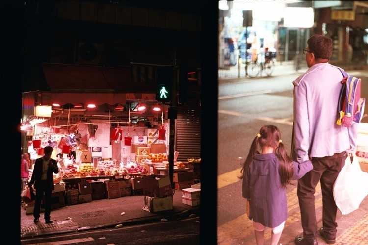 street corner, sai ying, HK - kappuru | ello