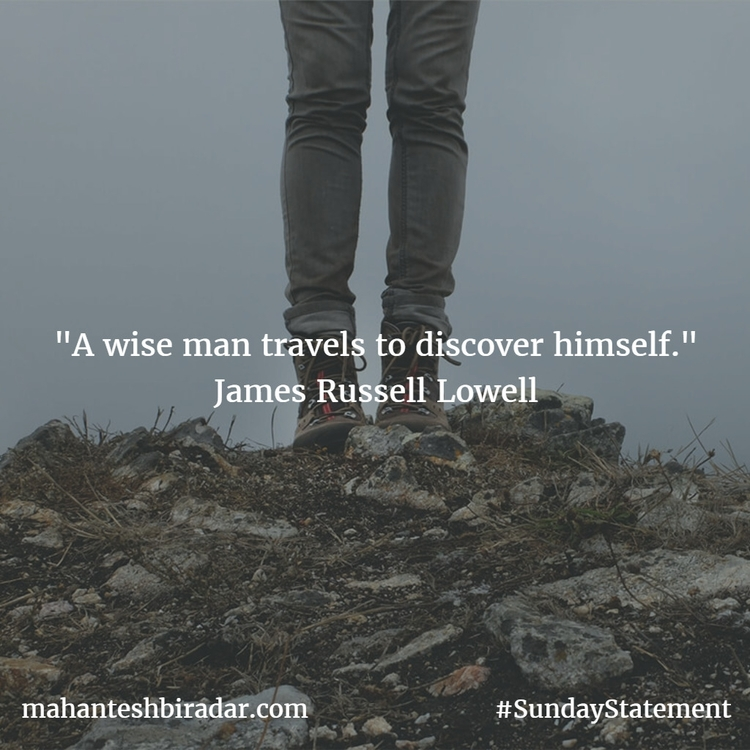 wise man travels discover James - dailyinspiration | ello