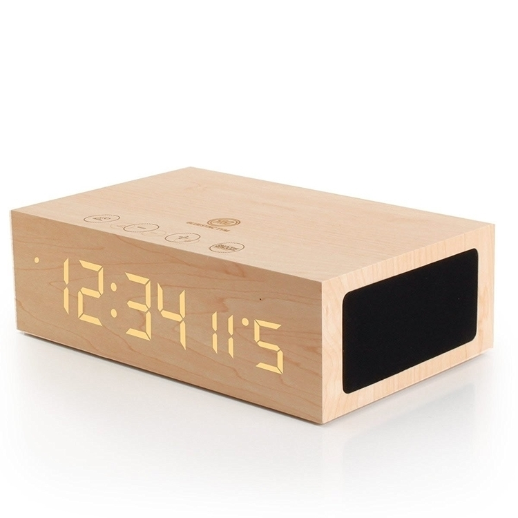 Wireless Stereo Alarm Clock LED - unary | ello